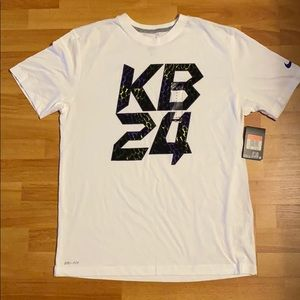 Nike Dri-fit cotton tshirt kobe Bryant kb24 Large